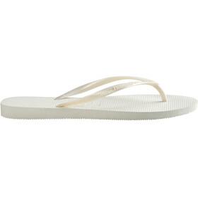 havaianas Slim Flips Women white